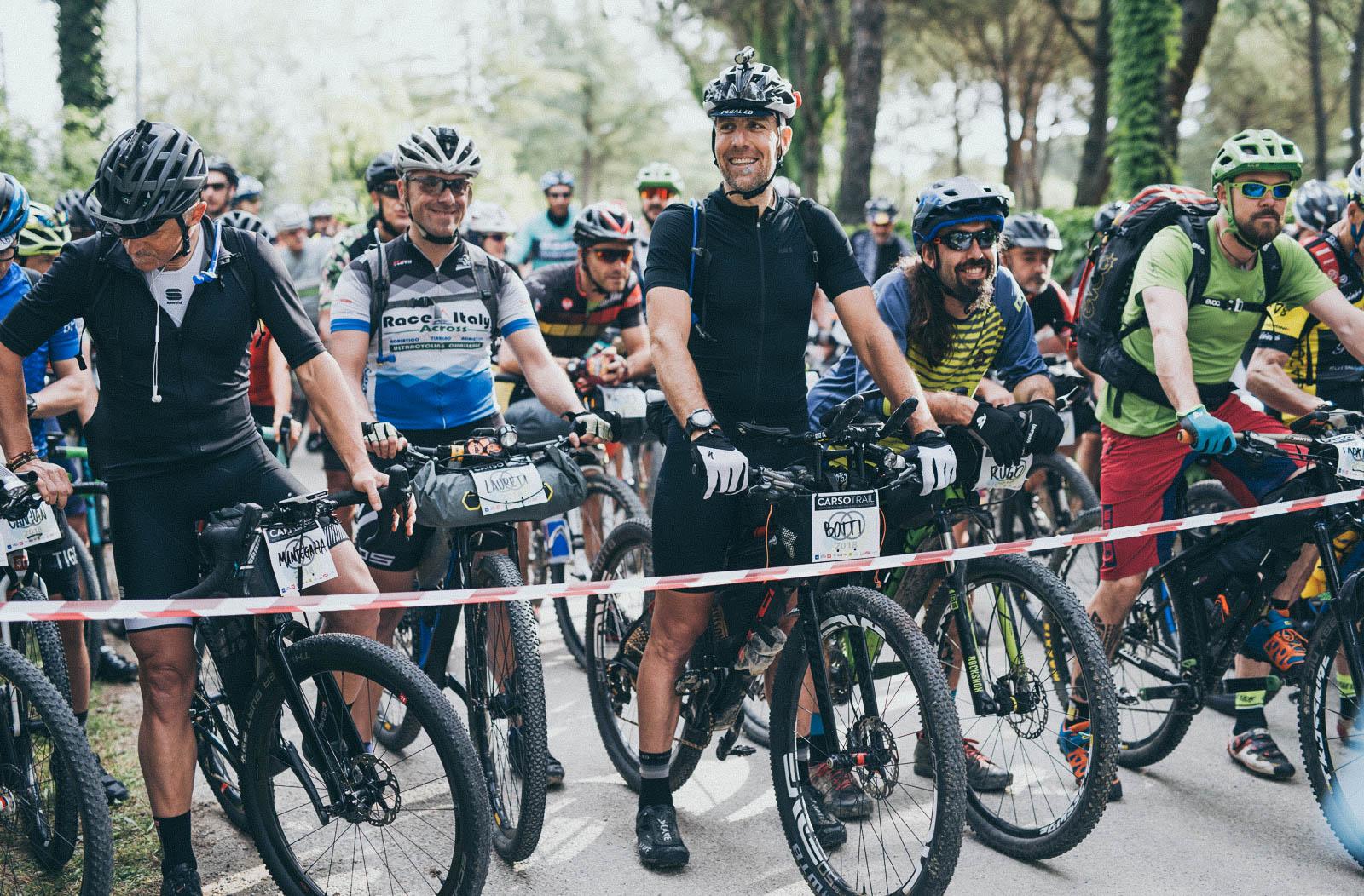 Partenza Carso Trail