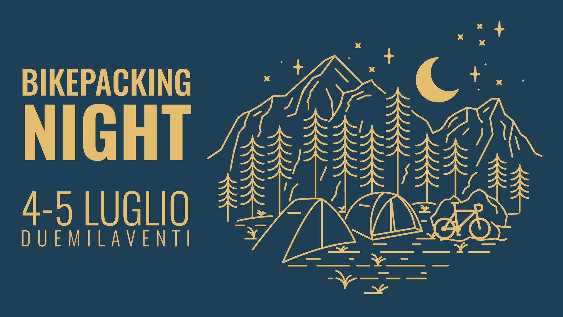 bikepacking night evento bikepacking 2020