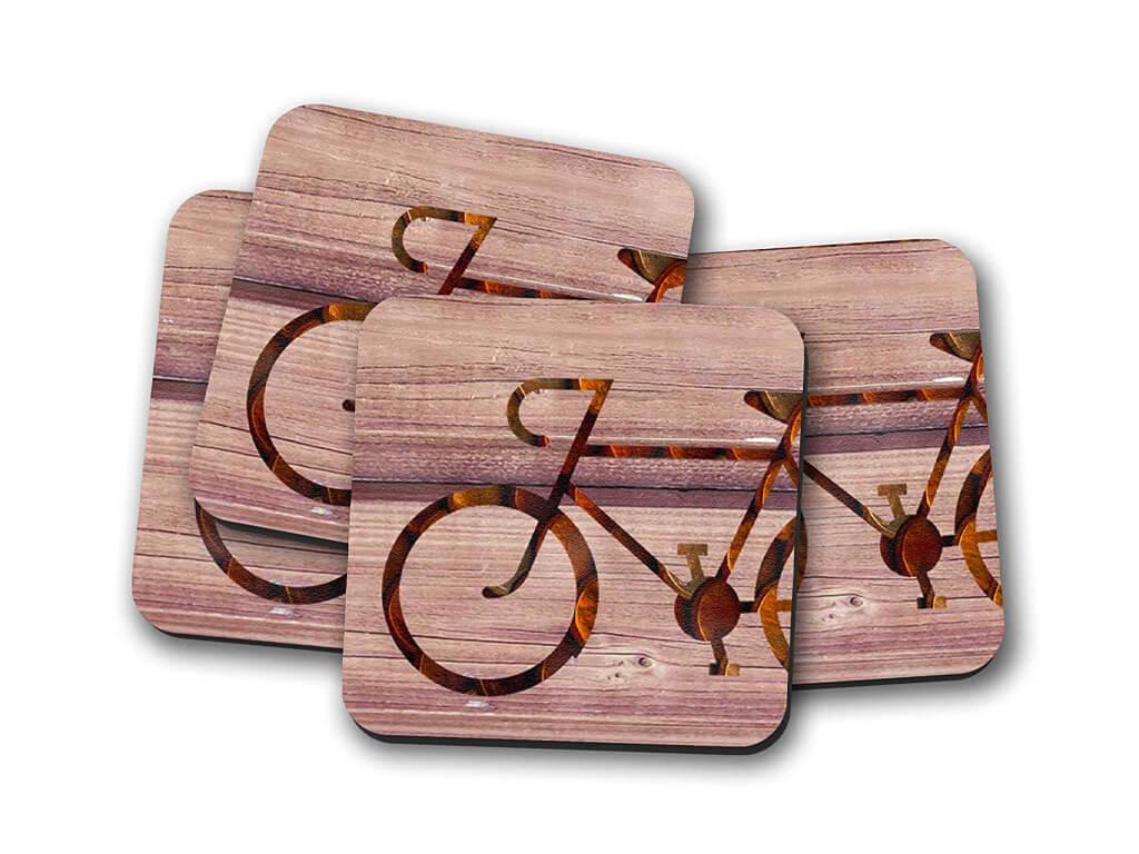sottobicchieri bicicletta