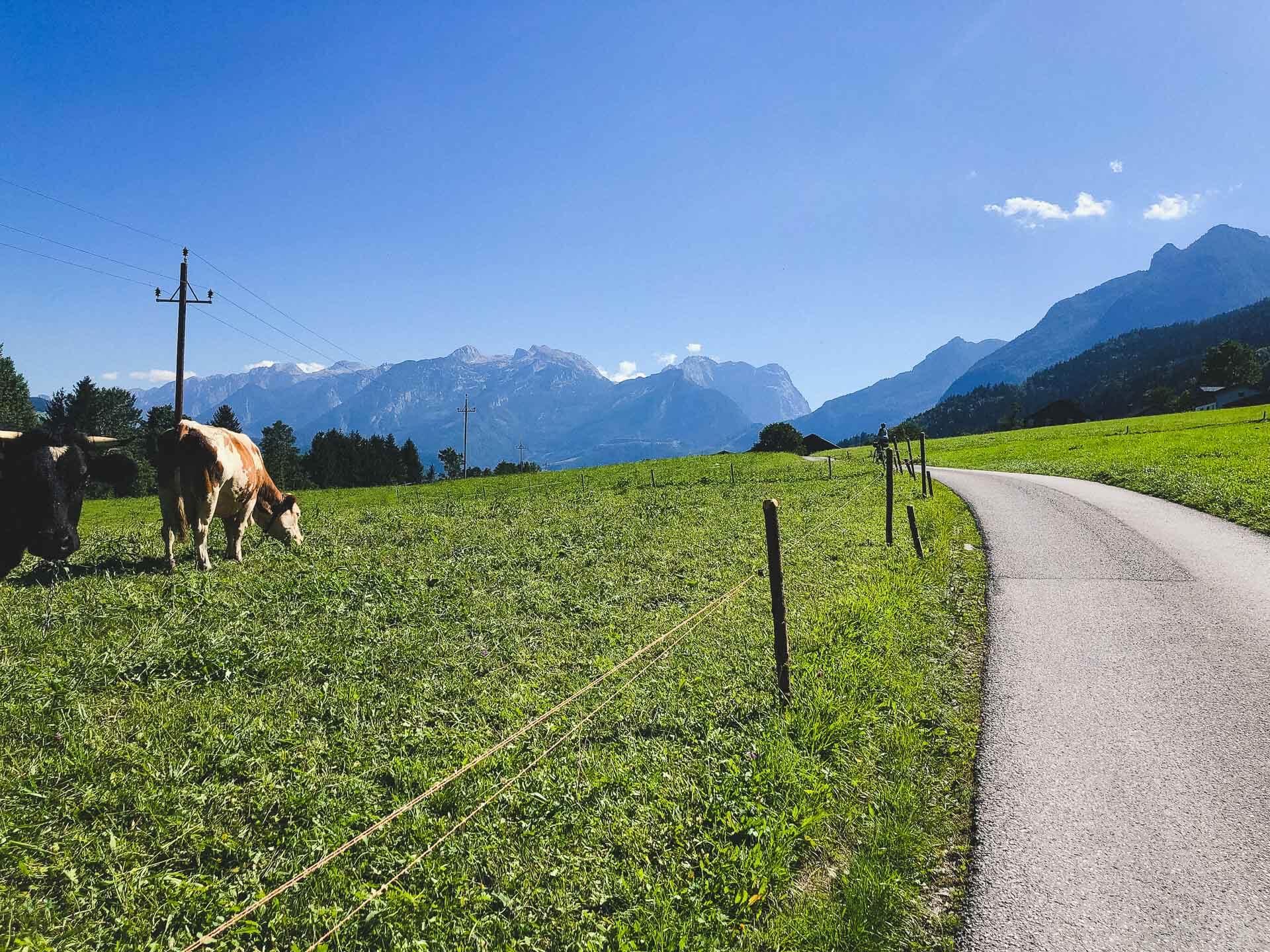 ciclabile alpe adria itinerario 2-4 giorni in bikepacking