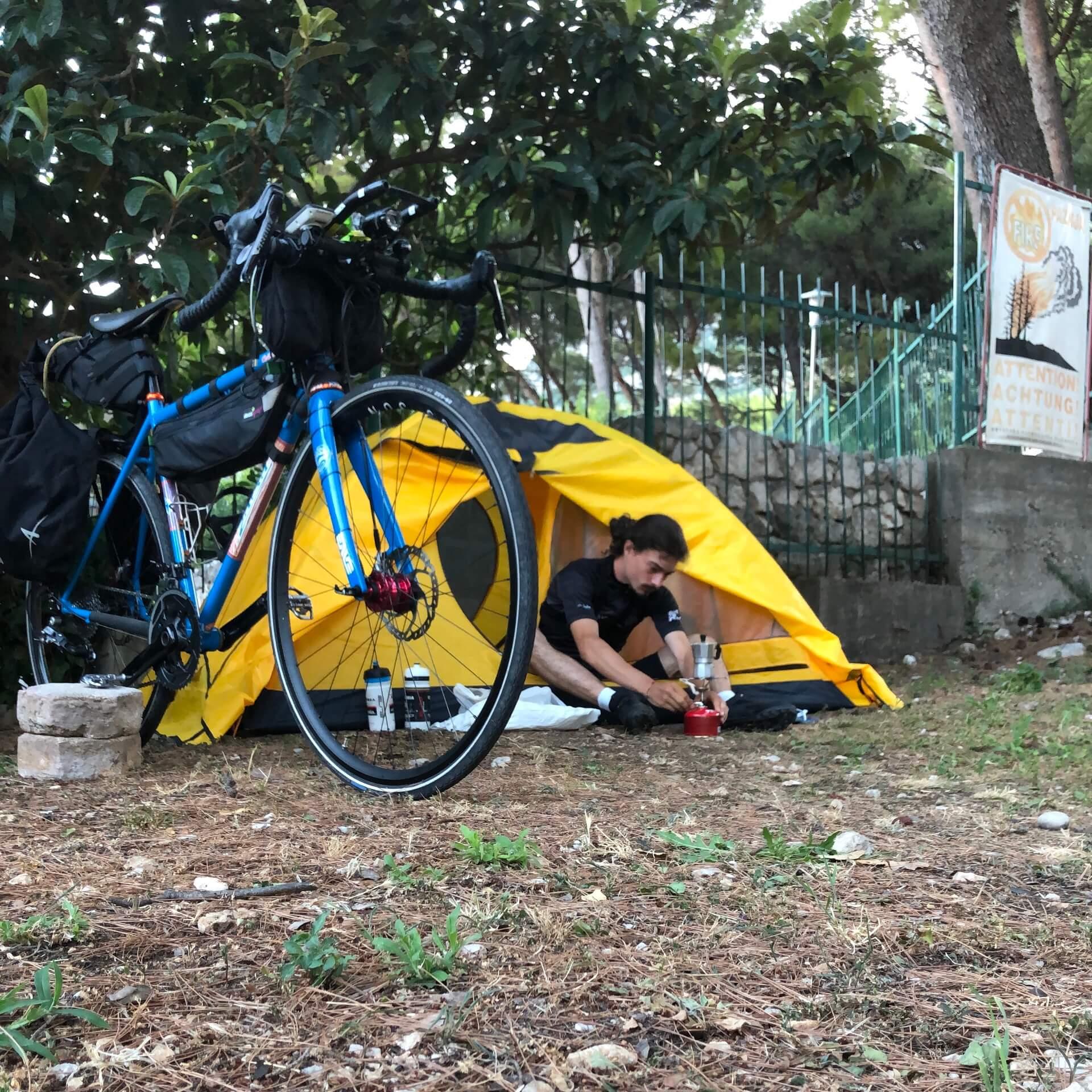 Campeggio in Croazia