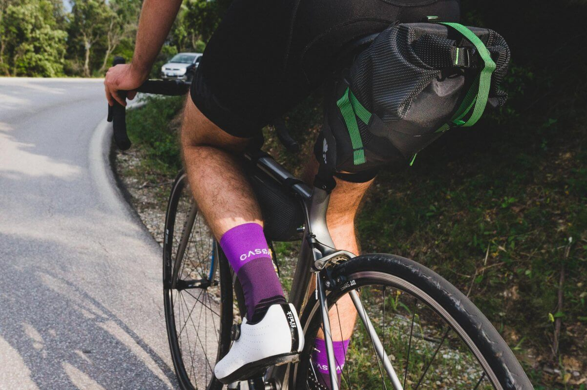 Miss Grape borse da bikepacking bici da corsa