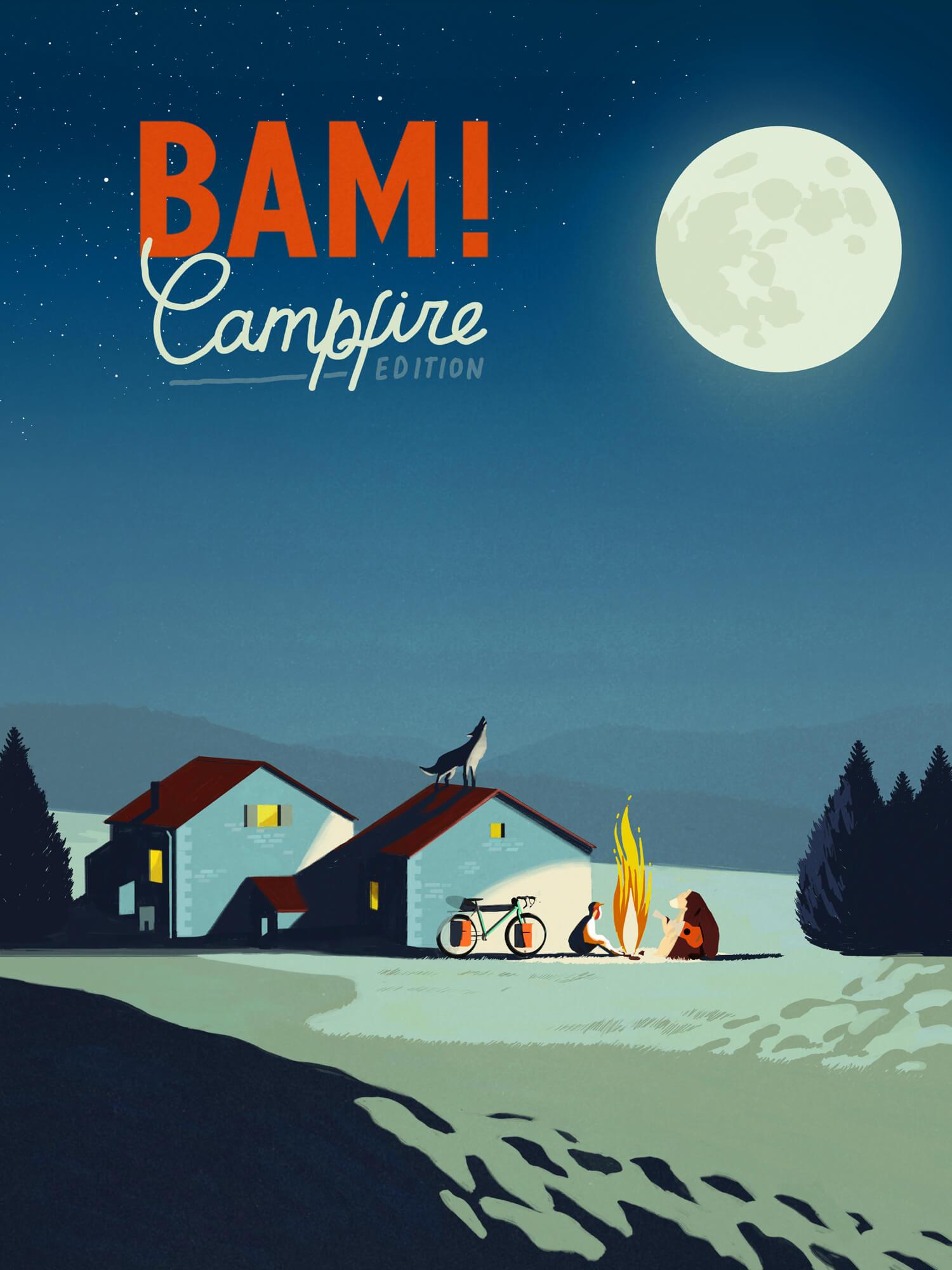 Bam! Campfire Locandina