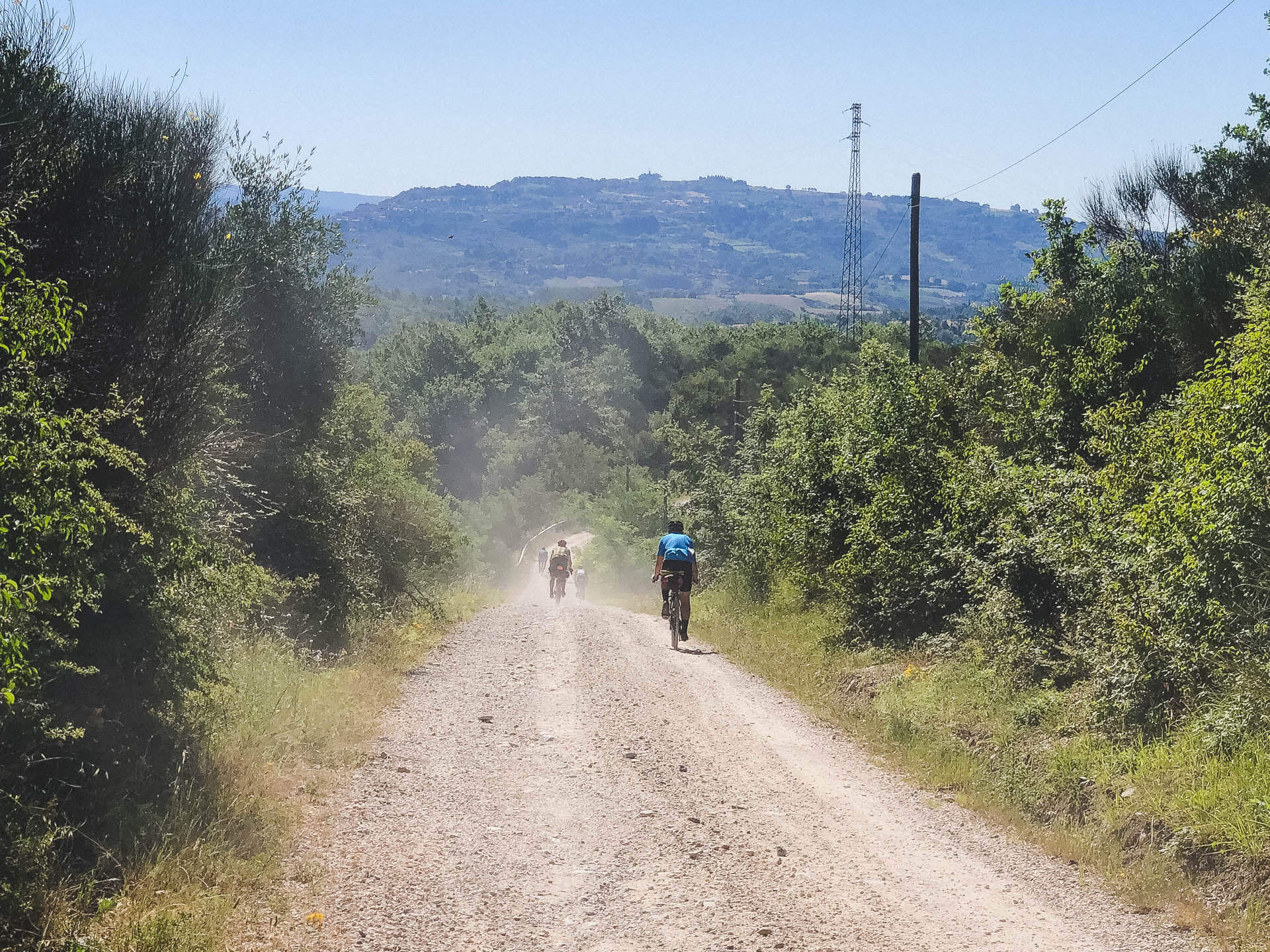 gravel ride dei 5 laghi bikepacking umbria