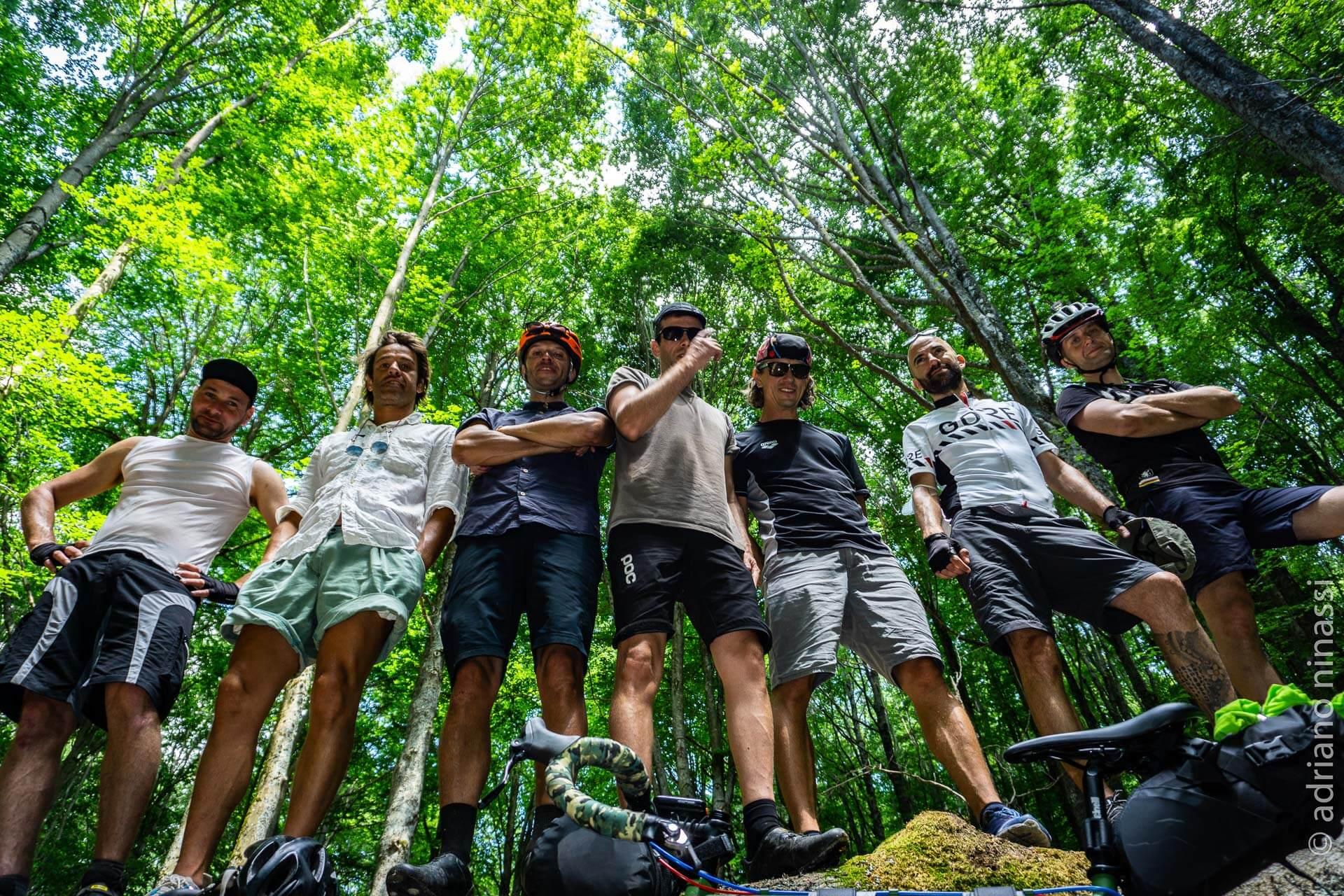 Gravel Abruzzo bikepacking 4 giorni